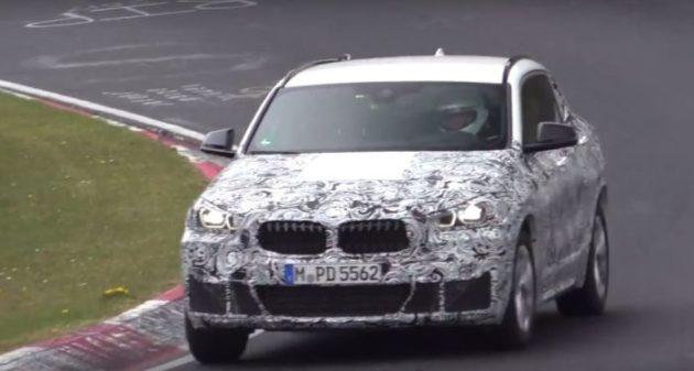 2018 BMW X2 grille 1 630x337