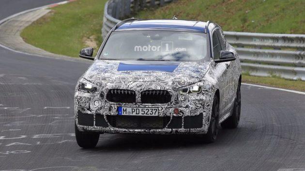 2018 BMW X2 grille 630x354