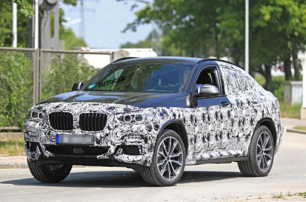 2018 BMW X4 exterior 630x417