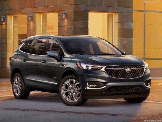 2018 Buick Enclave exterior 560x420