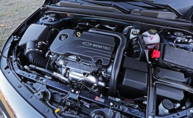 2018 Chevrolet Malibu engine 630x385