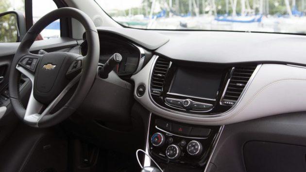 2018 Chevrolet Trax interior 630x354