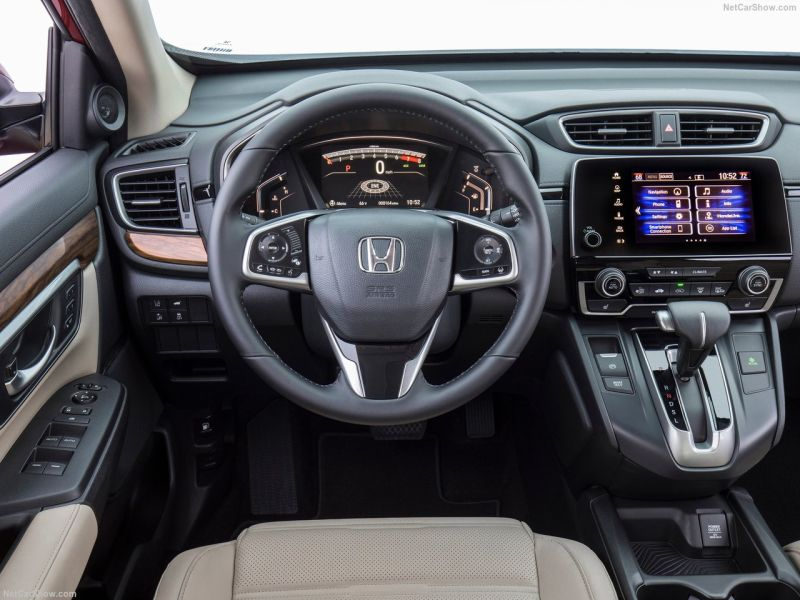 honda cr redesign dashboard interior release date netcarshow source