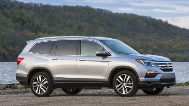 2018 Honda Pilot Side View 630x354