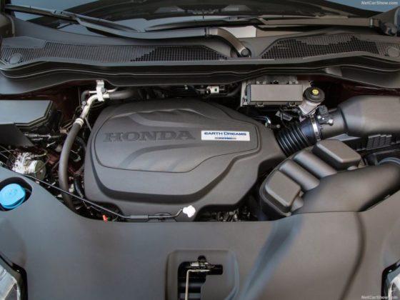 2018 Honda Ridgeline engine 560x420