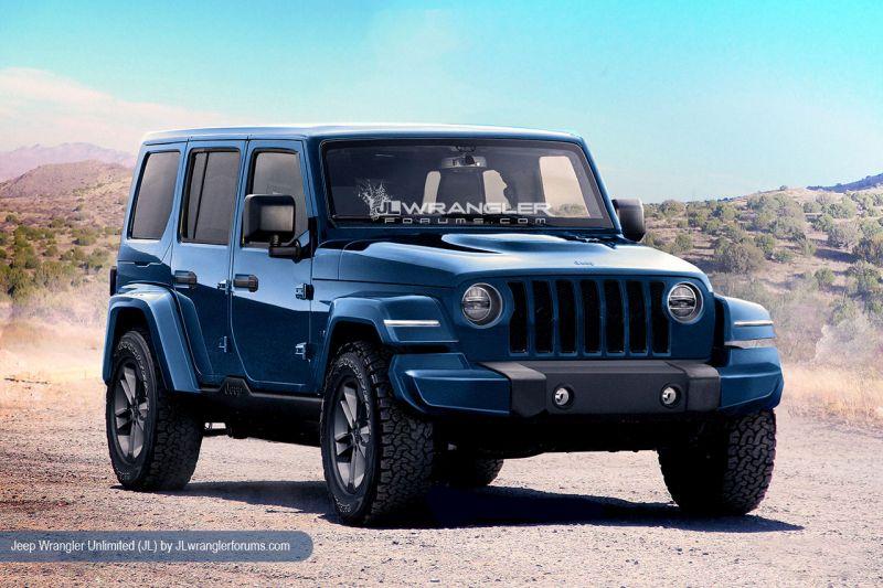 2018 Jeep Wrangler Redesign Release Date Diesel Pickup