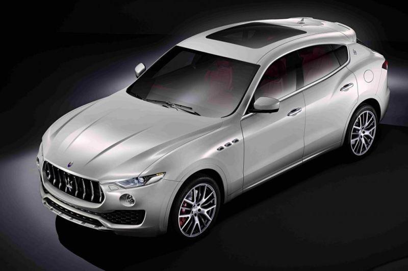 2018 Maserati Levante Exterior