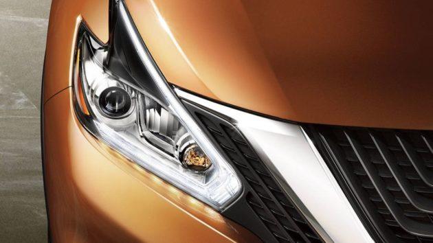 2018 Nissan Murano headlights 630x354