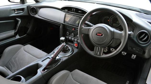 2018 Subaru BRZ STI interior 630x354