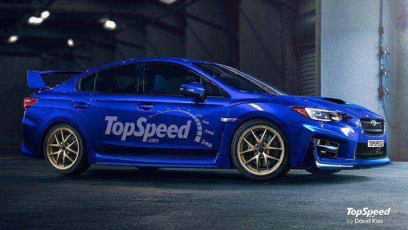 2018 Subaru WRX STI Rendering - Source: topspeed.com