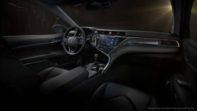 2018 Toyota Camry Official dashboard 630x354
