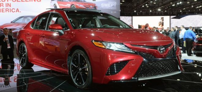 2018 Toyota Camry New Generation Of Presented In Detroit