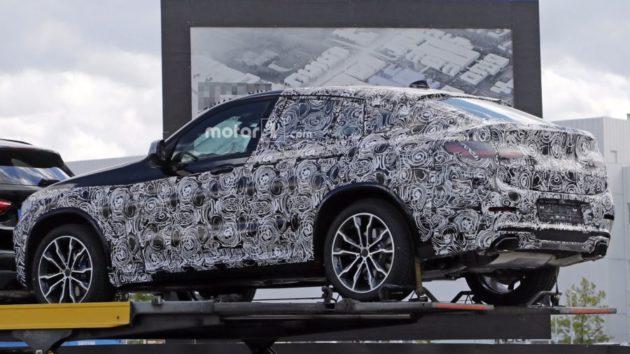 2019 BMW X4 rear design 630x354