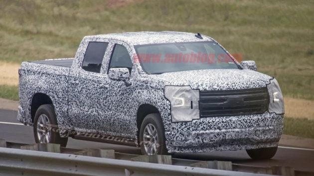 2019 Chevrolet Silverado exterior 1 630x354