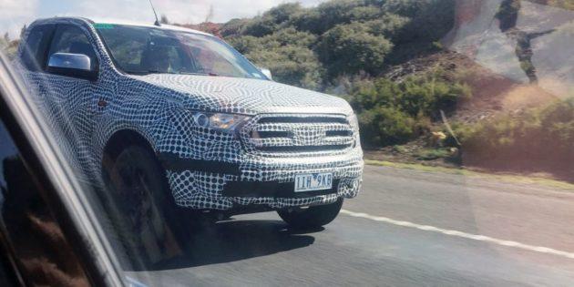 2019 Ford Ranger Spy Photos 630x315