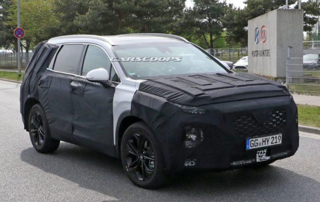 2019 Hyundai Santa Fe 630x398