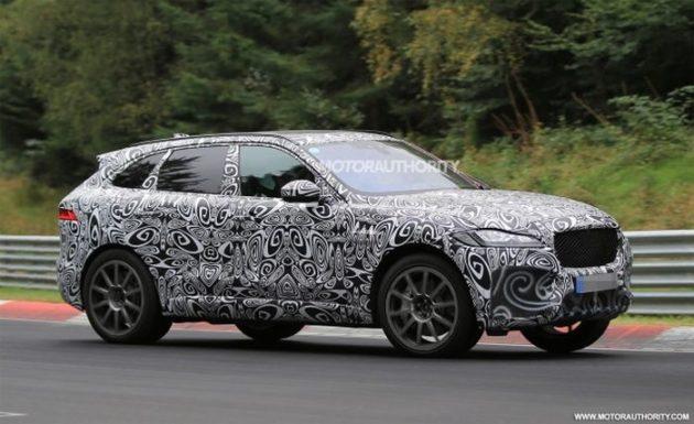 2019 Jaguar F Pace SVR exterior 630x385