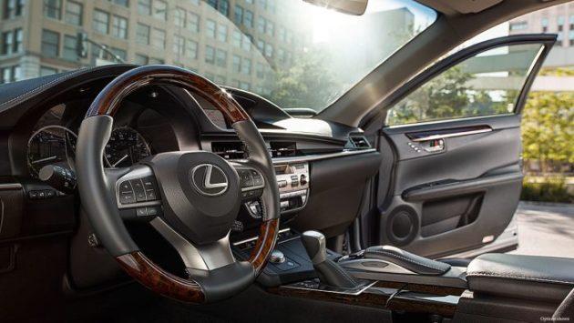 2019 Lexus ES interior 630x355
