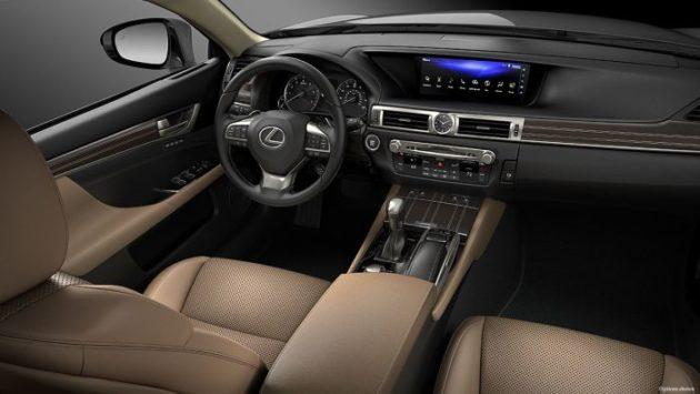 2019 Lexus GS interior 630x355