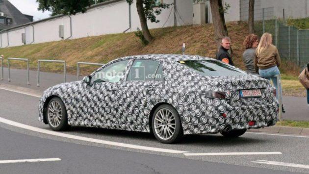 2019 Lexus GS rear left side 630x355