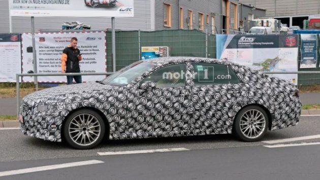 2019 Lexus GS side view 630x355