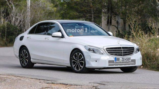 2019 Mercedes Benz C Class handling 630x354
