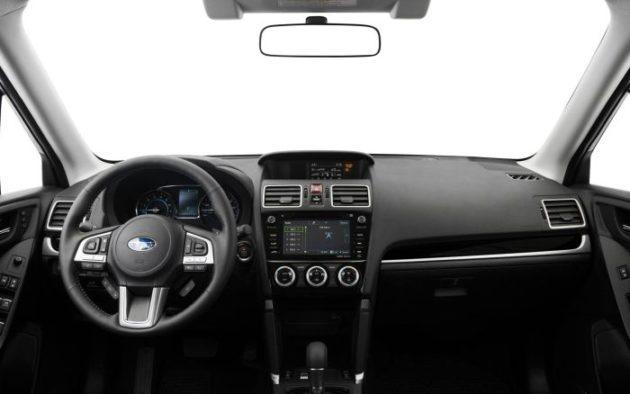 2019 Subaru Forester interior 630x394