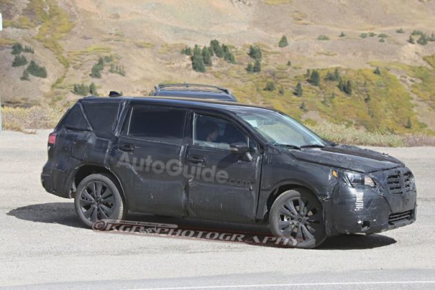 2019 Subaru Tribeca in motion 630x420