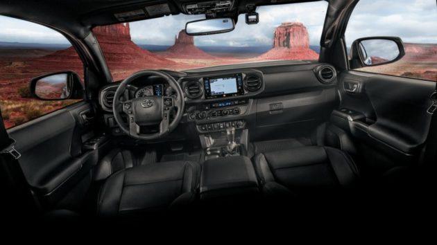 2019 Toyota Tacoma interior 630x354