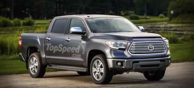 2019 Toyota Tundra Diesel Redesign Rumors Price Release Date