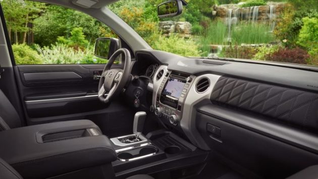 2019 Toyota Tundra interior 630x355