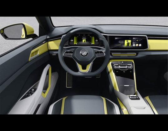 2019 Volkswagen T Cross interior 538x420