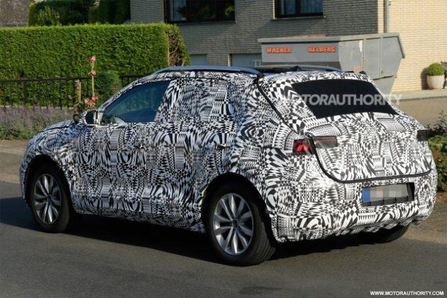 2019 Volkswagen T Cross rear left side 630x420