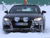2020 Audi TT Roadster hood
