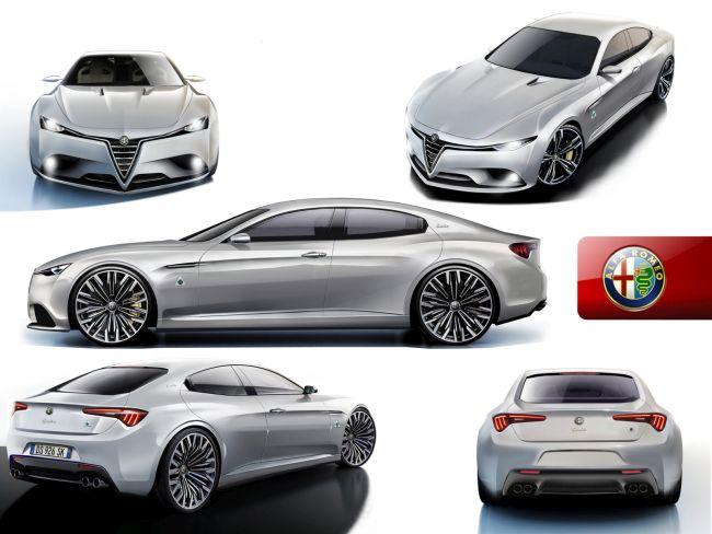 2017 alfa romeo giorgio sedan price specs concept. Black Bedroom Furniture Sets. Home Design Ideas